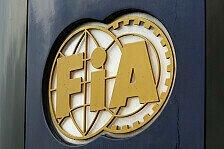Formel 1 - Strafen f�r Verkehrsvergehen: FIA legt neue H�chststrafen fest