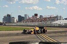 IndyCar - Top-8 waren m�glich: De Silvestro nach Ausfall entt�uscht
