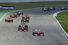 Formel 1 - Warwick unterst�tzt die Rennleitung: DRS-Zone in der Parabolica