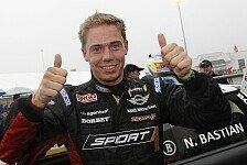MINI Challenge - Packendes Regenrennen auf dem N�rburgring: Nico Bastian gewinnt 11. Lauf der MINI Challenge