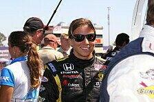 IndyCar - Vorfreude auf die zweite Saison: Simona De Silvestro bleibt bei HVM