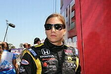 IndyCar - Kampf gegen Alex Lloyd: De Silvestro will bester Rookie werden