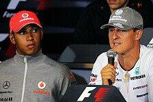 Formel 1 - Schumacher glaubt er wird Weltmeister: Hill: Hamilton muss Leben in den Griff bekommen