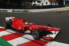 Formel 1 - Unbestrafter Regelversto�: Massa startete zu weit vorne