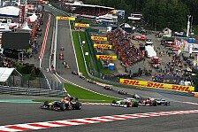 Formel 1 - Wettbewerb unter den Strecken wird gr��er: Spa: Alternation dient Rettung des Laufs