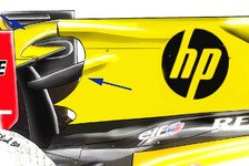 Formel 1 - Neues bei Renault und Ferrari: Technische Analyse Belgien GP