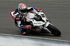 Superbike - Corser geht von Platz sechs ins Rennen: BMW in der zweiten Startreihe