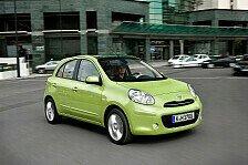 Auto - Platz eins bei den Kleinwagen in der ADAC Pannenstatistik 2013: Nissan Micra mit wenigsten Pannen