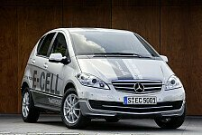 Auto - Das familientaugliche Elektroauto f�r die Stadt: Die neue Mercedes-Benz A-Klasse E-CELL