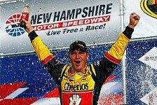 NASCAR - Tony Stewart ging auf der Magic Mile der Sprit aus: Clint Bowyer gewinnt den Chase-Auftakt