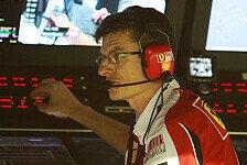 Formel 1 - Fry statt Dyer: Personelle Ver�nderungen bei Ferrari