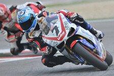 Superbike - Ducati-Dreifachpodium: Checa siegt vor Lanzi und Haga