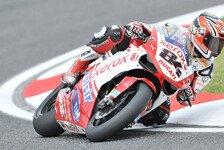 Superbike - Lebenszeichen: Fabrizio mit Bestzeit