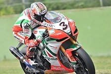 Superbike - Checa gewinnt, Biaggi neuer Weltmeister: Max Biaggi mit Rang f�nf zum Titel
