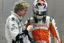 Formel 1 - F1-Piloten versuchen sich auf dem Schneemobil
