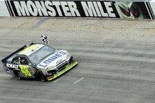 NASCAR - Denny Hamlin beh�lt die Gesamtf�hrung : �berlegener Sieg von Jimmie Johnson in Dover