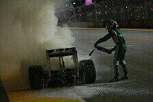 Formel 1 - Bilder: Singapur GP - Kovalainens Lotus in Flammen