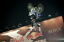 NIGHT of the JUMPs - Dany Torres Mann des Abends: Adams gewinnt Red Bull X-Fighters
