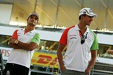 Formel 1 - Dicke Luft zwischen Sutil & Liuzzi