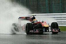 Formel 1 - Zu viel Wasser: Qualifying-Beginn verschoben