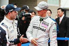 Formel 1 - Keine Strafen f�r Mercedes-Fahrer: Verwarnung f�r Schumacher