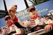 WRC - Erste Wahl f�r 2013: Dani Sordo kehrt zu Citroen zur�ck