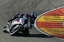 Superbike - Eindr�cke von Maschine und Strecke: Video: Haslam beim Test in Aragon