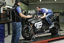 Superbike - Yamaha-Werkstatt in Italien besucht: Laverty bei seinem neuen Team