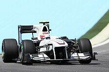 Formel 1 - Ein Punkt für Sauber