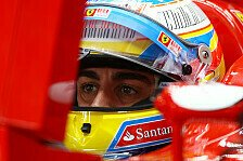 Formel 1 - Alonso glaubt zu 100 Prozent an Titel