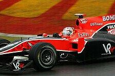 Formel 1 - Enttäuschende Virgin-Performance im Trockenen