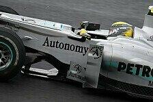 Formel 1 - Schumacher ließ Rosberg vorbei