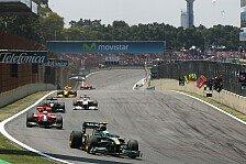 Formel 1 - Lotus verteidigt zehnten WM Platz
