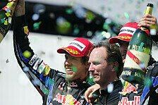 Formel 1 - Vettel fiel ein Stein vom Herzen