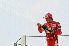 Formel 1 - Ferrari gratulierte Red Bull