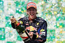 Formel 1 - Bilder: Brasilien GP - Podium