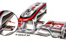 Formel 1 - Aerodynamisches Feintuning: Technische Analyse - Brasilien GP
