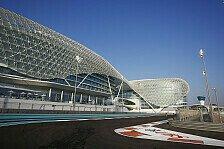 Formel 1 - Notwendigkeit pr�fen: Abu Dhabi GP: Doch keine Strecken-Umbauten?