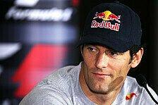 Formel 1 - Webber litt unter Schulterverletzung