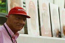 Formel 1 - Red Bull und Ferrari derzeit an der Spitze: Lauda: Kubica ist selber schuld