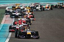 Formel 1 - Umweltschonende Motoren für 2013