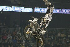 NIGHT of the JUMPs - Flip im Pastrana Style : Brice Izzo triumphiert in Wien