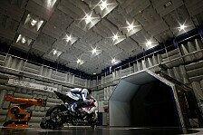 Superbike - Bilder: BMW testet im Windkanal