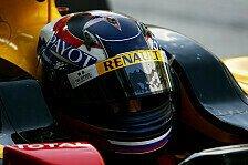 Formel 1 - Sieht gut aus: Aleshin visiert Renncockpit an