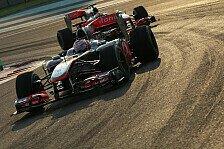 Formel 1 - 2011er-Auto: McLaren mit Fortschritt zufrieden