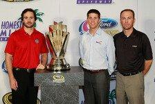 NASCAR - Johnson startet in Homestead vor Harvick und Hamlin : Kasey Kahne steht beim Saisonfinale auf der Pole