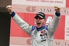 F3 Euro Series - Sensationeller Abschluss einer perfekten Saison: Zweiter Triumph f�r Mortara in Macau