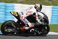 Moto2 - Teile kamen zu sp�t: Krummenacher testete in Almeria