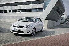 Auto - Jahresproduktion f�r 2010 bereits ausverkauft: Erfolgreicher Start f�r den Toyota Auris Hybrid