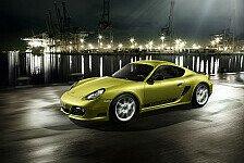 Auto - Leichtgewicht mit besonders sportlichen Ambitionen : Reizvoll und raffiniert: Porsche Cayman R